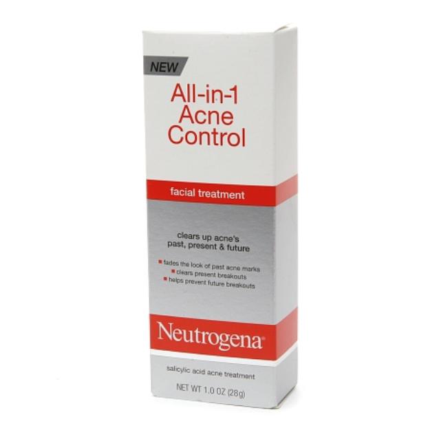 Neutrogena® All-in-1 Acne Control Facial Treatment
