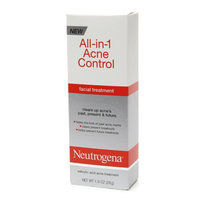 Neutrogena® All-in-1 Acne Control Facial Treatment