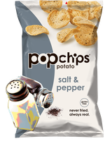 popchips Potato Salt & Pepper Chips