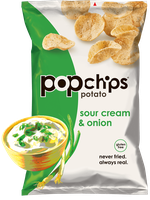popchips Sour Cream & Onion Potato Chips