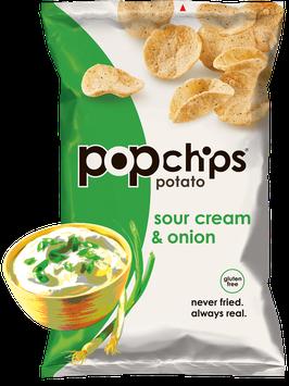 popchips Sour Cream & Onion Potato Chips