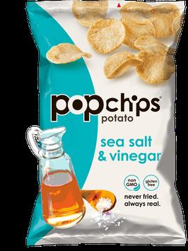 popchips Sea Salt & Vinegar Potato Chips
