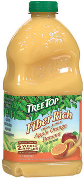 Tree Top Fiber Rich Apple Orange Banana 100% Juice 64 Oz Plastic Bottle
