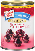 Duncan Hines® Comstock® Dark Sweet Cherry Pie Filling & Topping 21 oz. Can