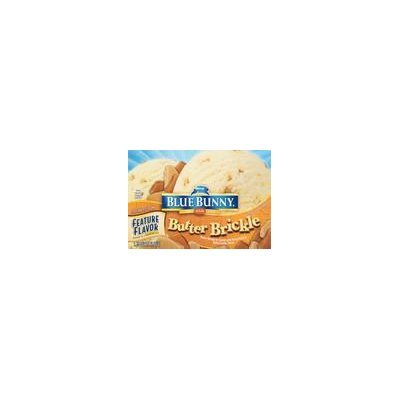 Blue Bunny® Sweet & Salty Cluster/Butter Brickle/S'more Please! Original Ice Cream 1.75 qt. Carton