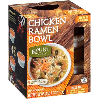 BLOUNT FINE FOODS Chicken Ramen Bowls