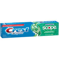 Whitening Plus Scope Crest Complete Whitening + Scope Minty Fresh Striped Toothpaste, 170 mL