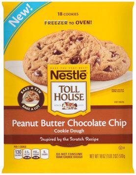 Nestlé TOLL HOUSE Frozen Peanut Butter Chocolate Chip Cookie Dough 18 oz.