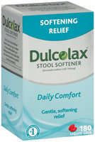 Dulcolax® Stool Softener Liquid Gels 180 ct
