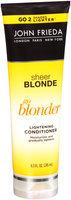 John Frieda® Sheer Blonde Go Blonder Lightening Conditioner 8.3 fl. oz. Tube