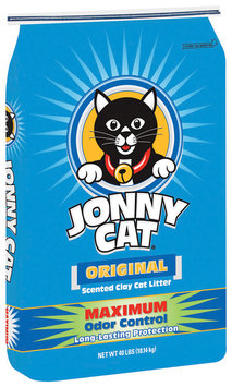 Jonny Cat Original Maximum Odor Control Scented Cat Litter 40 Lb Bag