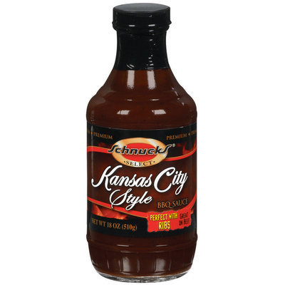 Schnucks Kansas City Style BBQ Sauce 18 Oz Bottle