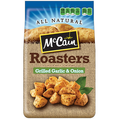 McCain® Roastes Grilled Garlic & Onion Oven Roast Potatoes 24 oz. Bag