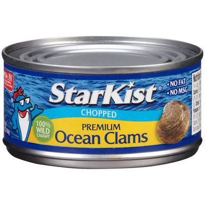 StarKist® Chopped Premium Ocean Clams 6.5 oz. Can
