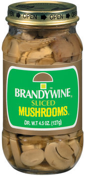 Brandywine Sliced Mushrooms 4.5 Oz Jar