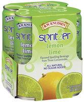 R.W. Knudsen Lemon Lime 10.5 Oz Spritzer 4 Ct Pack