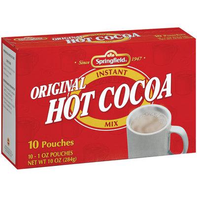 Springfield Original 10 Ct Hot Cocoa Mix 10 Oz Box