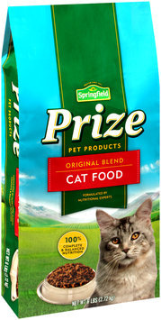 Springfield® Prize Pet Products Original Blend Cat Food 6 lbs. Stand-Up Bag