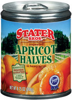 Stater Bros. Halves Apricot 8.75 Oz Pull-Top Can