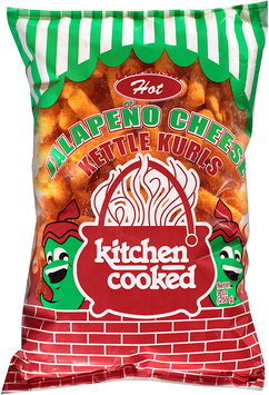 Kitchen Cooked Hot Jalapeno Cheese Kettle Kurls 9 oz. Bag