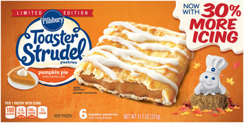 Pillsbury Toaster Strudel™ Limited Edition Pumpkin Pie Toaster Pastries 6 ct Box