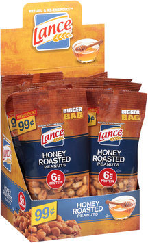 Lance® Honey Roasted Peanuts 23 oz. Box