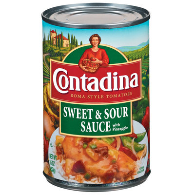 Contadina Sweet & Sour Sauce with Pineapple 16 oz. Can