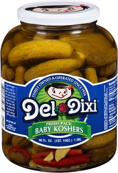 Del Dixi® Fresh Pack Baby Koshers Pickles 46 fl. oz. Jar