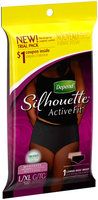 Depend® Silhouette® Active Fit Women's L/XL Moderate Absorbency Underwear Trial Pack