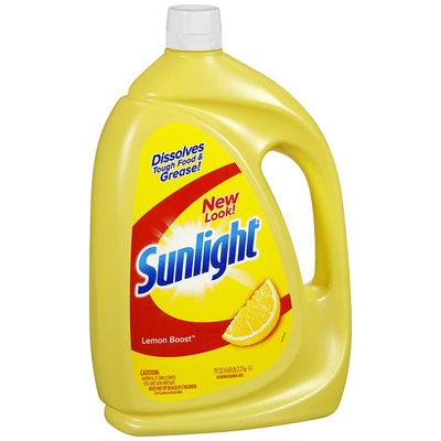 Sunlight® Lemon Boost™ Dishwashing Gel 75 oz. Jug