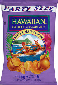 Hawaiian™ Kettle Style Potato Chips Sweet Maui Onion 16 oz. Bag