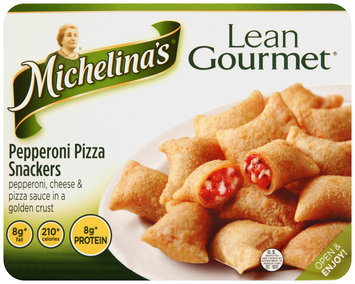 Michelina's® Lean Gourmet® Pepperoni Pizza Snackers 4.5 oz. Tray