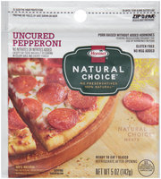 Hormel® Natural Choice® Uncured Pepperoni 5 oz. Zip–Pak®