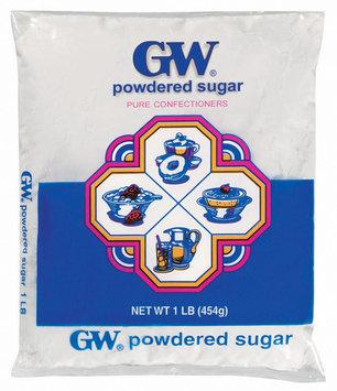 GW Pure Confectioners Powdered Sugar 1 Lb Bag