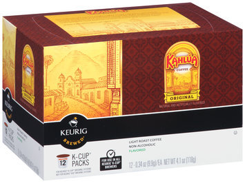 Kahlua® Original Light Roast Coffee K-Cup® Packs 12 ct Box