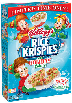 Kellogg's® Holiday Rice Krispies® Toasted Rice Cereal 9.9 oz. Box
