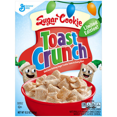 Limited Edition Sugar Cookie Toast Crunch™ Cereal 12.2 oz. Box