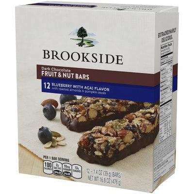 Brookside® Blueberry with Acai Flavor Dark Chocolate Fruit & Nut Bars 12-1.4 oz. Bars