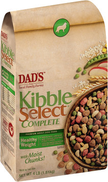Dad's™ Kibble Select® Complete Healthy Weight Premium Dog Food 4 lb. Bag