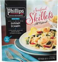 Phillips Seafood Restaurants™ Garlic & White Wine Shrimp Scampi 21 Oz Bag