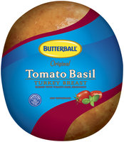 Butterball Original Rubbed W/Tomato Basil Seasoning Turkey Breast   Wrapper