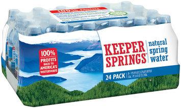 Keeper Springs Natural Spring Water