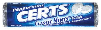 Certs Peppermint Classic Mints