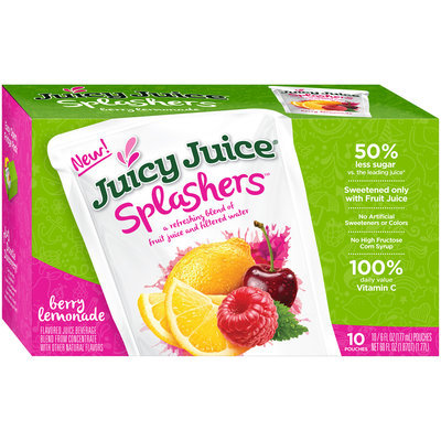 Juicy Juice® Splashers™ Berry Lemonade