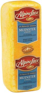 Alpine Lace® Muenster Reduced Sodium Deli Cheese 1 Ct Brick