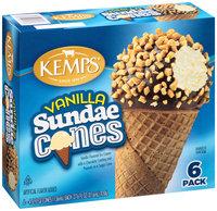 Kemps® Vanilla Sundae Ice Cream Cones 6-4.6 fl.oz. Cones