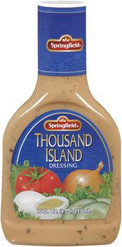 Springfield® Thousand Island Dressing 16 fl. oz. Bottle