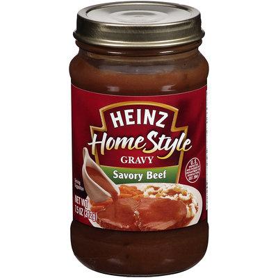 Heinz® HomeStyle Savory Beef Gravy 7.5 oz. Jar.