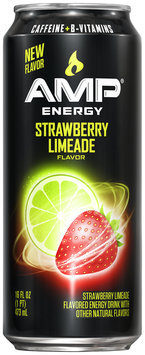 AMP® Energy Strawberry Limeade Energy Drink 16 fl. oz. Can