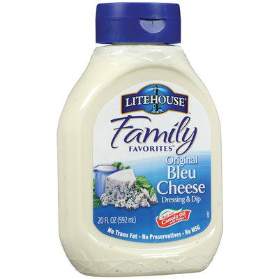 Litehouse Bleu Cheese Dressing & Dip 20 Oz Plastic Bottle